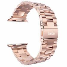 Hoco Luxury Stainless Steel Apple Watch Series 4/3/2/1 Bracelet Wristband - Gold