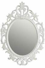 Spiegel barock weiß Wandspiegel oval Barockspiegel Badspiegel Patina Landhaus