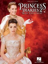 """""""THE PRINCESS DIARIES 2-ROYAL ENGAGEMENT"""" PIANO/VOCAL/GUITAR MUSIC BOOK-NEW SALE"""