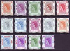 Hong Kong 1954 SC 185-198 MH Set