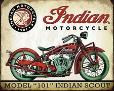 INDIAN AMERICAN MOTORCYCLE MOTORBIKE METAL PLAQUE TIN SIGN OTHERS LISTED 359