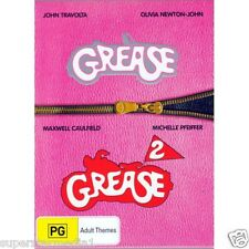 GREASE 1 & 2 : NEW DVD