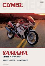 Clymer Repair Service Shop Manual Vintage Yamaha FZR600 R 1989, 90, 91, 92, 93