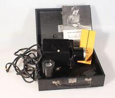 Kodaslide Projector Model 1 Bakelite W/ Slide Carrier, Orig. Case, Accessories