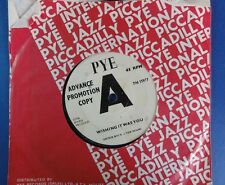 DICKIE ROCK & THE MIAMI WISHING IT WAS YOU pye A label promo 45