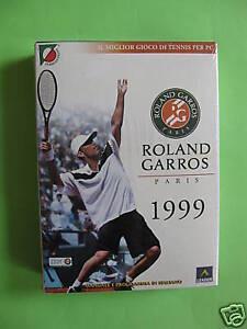 ROLAND GARROS PARIS 1999 IN ITALIANO CELLOPHANATO