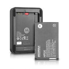 Motorola External Battery Charger+HF5X Battery For Defy XT/PHOTON 4G/ELECTRIFY M