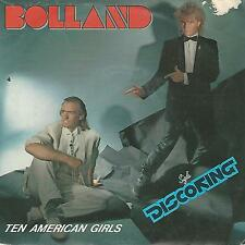 """BOLLAND """" TEN AMERICAN GIRLS / NIGHT OF THE SHOOTING STARS"""" 7"""" MADE IN ITALY"""