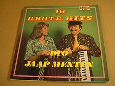 ACCORDEON LP / DUO JAAP MENTEN - 16 GROTE HITS