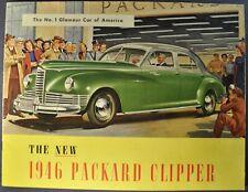 1946 Packard Clipper Catalog Brochure Deluxe Touring Sedan Excellent Original 46