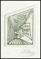 May Lorentz 1970 Exlibris C3 Bookplate 2058