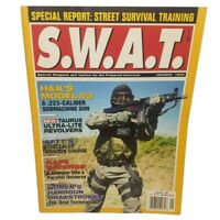 1999 SWAT Magazine Street Survival Training Special Weapons & Tactics Guns Book