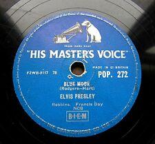 0277/ ELVIS PRESLEY- Blue moon (herzig)-I don´t care if the sun don´t -Schellack