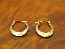 14kt 585 Yellow Gold Hoop Earrings/Earrings/1,4g