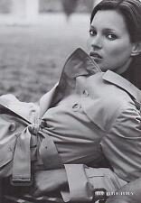 ▬► PUBLICITE ADVERTISING AD Vêtement femme BURBERRY 1999
