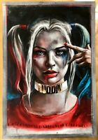 DC - Harley Quinn Art Print Portrait by Artist Robert Bruno from HCG super cool