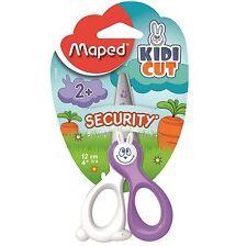Maped Kidi Cut Security Scissors 12 cm Safe Childrens Cutters Kids Paper School
