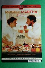 MOSTLY MARTHA BELLA MARTHA COVER ART MINI POSTER BACKER CARD (NOT a movie dvd )
