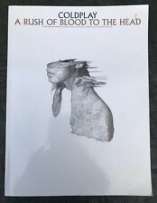 Coldplay A Rush Of Blood To The Head Music Chord Song Book
