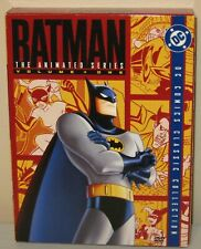 Batman: The Animated Series - Vol. 1 (DVD, 2004, 4-Disc Set) DVD Pre-owned