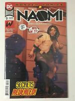 Naomi #3 (DC 2019) Second Printing Variant 2nd Print Final
