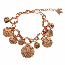 Rose color Turkish Coin Fringe Bracelet Anklet Gypsy Boho Belly Dance Jewelry
