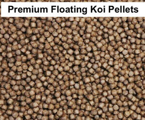 PREMIUM, HIGHEST 52% PROTEIN KOI / FISH PELLETS FOR GROWTH, WELL BEING & COLOUR