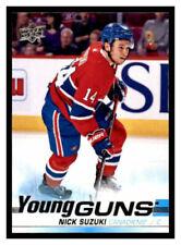 19-20 UD YOUNG GUNS NICK SUZUKI RC #471 - MONTREAL CANADIENS HOT