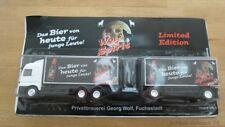 """Top-Style  1:87 Mercedes Benz Koffer-Hängerzug """"Wolf Spirit Pils"""" #24993#"""