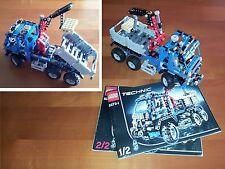 Lego Technic 8273 Truck with Crane Lift Off Road Truck 100% Complete