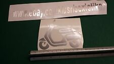 Scooter Decal Sticker,Window,Car,Van,Bumper.vespa,
