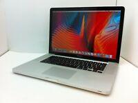"Apple MacBook Pro 15"" - MC721LL/A A1286 Intel I7 Quad Core 2.90Ghz 8GB 1TB DVDRW"