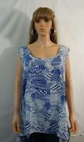 NWOT NEW Women's Woman Within Size 34W 5X Top Shirt Blouse Casual Work Clothes