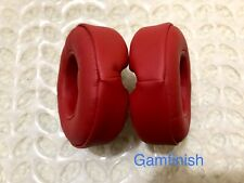 Replacement Dr. Dre Beats Mixr Headphone Red Ear Pads Headphones