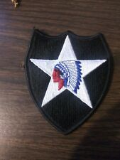 """US Army 2nd Infantry Division """"Indianhead"""" Patch"""