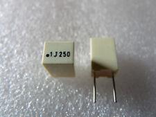 10 condensateurs MKT 0,1uF 100nF 250V 5% Arcotronic