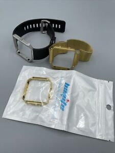 Fitbit Blaze bands And Frame Gold, adjustable, 42mm large Lot