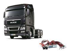 Tamiya Truck MAN TGX 26.540 Gun Metal Edition + LED-Lichtset - 56346LED