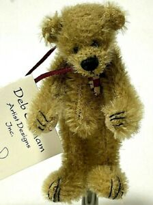 Deb Canham SORRY Limited Edition Miniature Mohair Bear