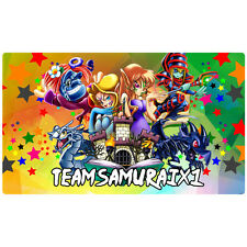 FREE SHIPPING Yugioh Playmat Toon World Play Mat TeamSamuraiX Toon Cyber Dragon