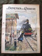 La Domenica del Corriere 17 Maggio 1903 Treno Disordini Salonicco Esercito turco