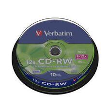 50 CD-RW VERBATIM 12X REWRITABLE (Riscrivibili)
