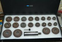From  HQVALVE SEAT GRINDING STONES SET OF 20 PCS  WITH SIOUX HOLDER AND STAR DRI