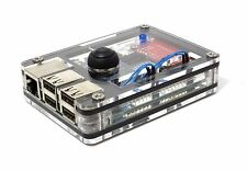 Zebra Power Button Case for Raspberry Pi and the ATXRaspi  ~  by C4Labs