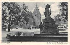 Landsberg Warte St. Marien Paukschbrunnen 1943
