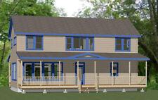 44x20 House -- 4 Bedroom 3 Bath -- 1,692 sq ft -- PDF Floor Plan -- Model 1G