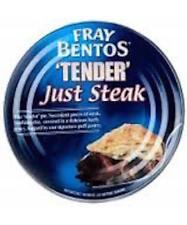 Fray Bentos Pies  Tender Just Steak  475g  X 3