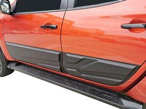 Rugged Black Body Side Line Protector Cover for Mitsubishi Triton MQ MR 2015-21