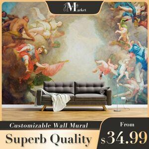 Details about  /3D Musical Instrument Angel 7 Wallpaper Mural Dercor Kid Nursery Wallpaper Mural