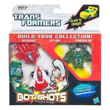 Transformers Bot Shots Triple Pack SkyQuake JetFire & Power Glide Action Figures